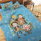【享夢城堡】航海王 友誼之光系列-精梳棉單人床包涼被組
