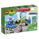 LEGO 樂高 得寶幼兒系列 警察局_LG10902