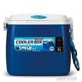 乐扣乐扣保温箱 8L车载保冷箱9006背带冷藏保鲜箱冰桶 冰箱 居家家生活館