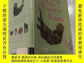 二手書博民逛書店the罕見otter who wanted to konw 想知道的水獺Y200392 不祥 不祥