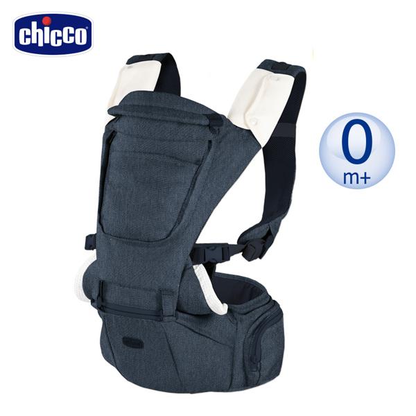 【新品上市】chicco-HIP SEAT輕量全方位坐墊/揹帶機能抱嬰袋-丹寧牛仔