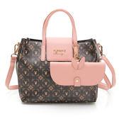 PLAYBOY-  手提包附長背帶 Coral Garden珊瑚花園-愛麗絲系列 -粉紅色