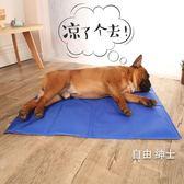 夏天狗狗涼席寵物冰墊凝膠涼墊夏季降溫貓咪狗墊子貓耐咬狗窩睡墊WY 1件免運