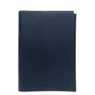 HERMES 愛馬仕 K7 Bleu Obscur 深藍色牛皮筆記本套口O刻 T6 Epsom 【BRAND OFF】