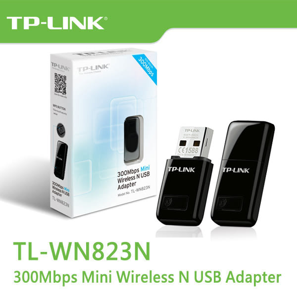 TP-LINK TL-WN823N V3 300Mbps 802.11n 迷你無線USB 網路卡
