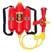 水槍玩具兒童背包消防水槍 抽拉式 大容量男孩水槍夏天戲水呲水槍-享家