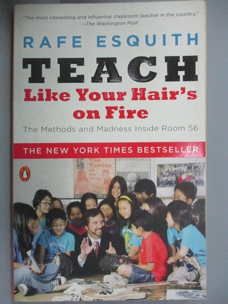 【書寶二手書T9/大學社科_IJJ】Teach Like Your Hair's on Fire: The Method