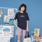 衣服短袖女小清新可愛夏裝上衣印花T恤寬鬆韓版【時尚大衣櫥】