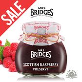 外包裝不全即期【MRS. BRIDGES】英橋夫人蘇格蘭覆盆莓果醬(小)113g 效期2021/05