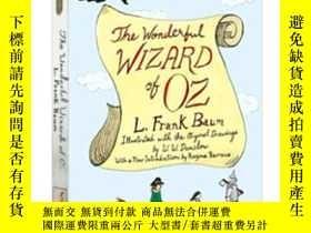 二手書博民逛書店綠野仙蹤罕見英文原版 The Wizard of Oz L Fr