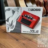 【凱傑樂器】BOSS VE-2 Vocal Echo 人聲 和聲 主唱 人聲效果器