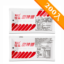 憶霖 甜辣醬(10g x 200包/袋)
