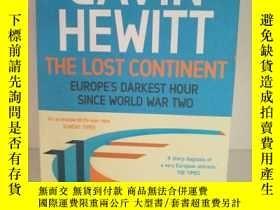 二手書博民逛書店The罕見Lost Continent by Gavin Hew