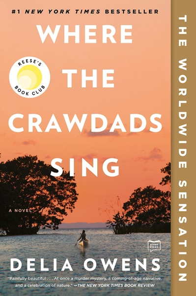 [2美國直購] Amazon 2021 暢銷排行榜 Where the Crawdads Sing (English) Paperback – 30 3 月 2021