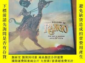 二手書博民逛書店The罕見Ballad of Rango: The Art &