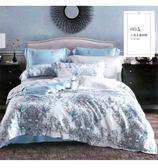 ✰雙人加大 薄床包兩用被四件組 加高35cm✰ 100% 60支純天絲《初夏之音》