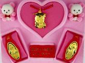 9999純金 黃金 金飾【寶寶彌月滿月禮盒】『 科技天才 彌月禮盒 』