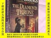 二手書博民逛書店THE罕見DIAMOND THRONEY146810 David