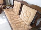 秋冬加厚紅木實木沙發坐墊 毛絨墊子椅墊 木質沙發組合 防滑