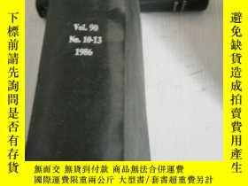 二手書博民逛書店the罕見journal of physical chemist
