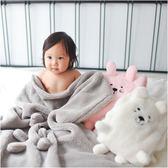 造型包巾 嬰兒包被 動物被毯 毛毯 小被單 安撫巾 70041