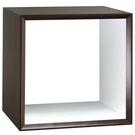 【藝匠】魔術方塊胡桃色大鏤空櫃收納櫃 家具 組合櫃 廚具 收藏 置物櫃 櫃子 小櫃子