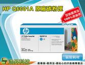HP Q6001A 原廠藍色超精細碳粉匣 適用於1600/2600/2600/2605/CM1015/1015