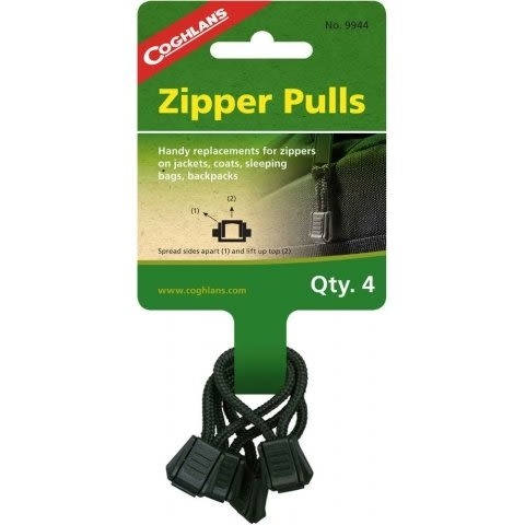 【速捷戶外】Coghlans #9944 拉鍊環 Zipper Pulls,拉鍊扣環
