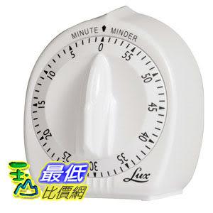 [104美國直購] Lux 白色 定時器 B0000BYCNZ Mechanical Classic Timer $395