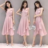 中大尺碼 大尺碼寬鬆洋裝超火棉麻連衣裙夏季氣質韓版顯瘦寬鬆 WD1302『衣好月圓』