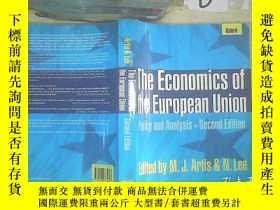 二手書博民逛書店The罕見Economics Of The European Union 歐盟經濟學 ..Y261116