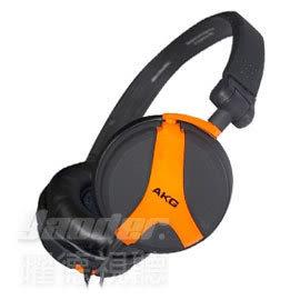 【曜德視聽】AKG K518 LE 橘色 3D轉軸設計 耳罩式耳機 / 免運 / 送收納袋