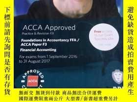 二手書博民逛書店罕見BPP ACCA paper F3 Practice & Revision Kit Financial Acc