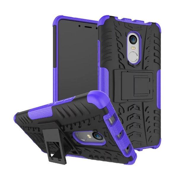 小米 紅米Note4X 手機殼 保護殼 防摔 防撞 支架 炫彩輪胎紋