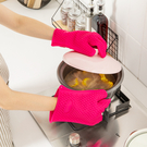 微波爐手套隔熱加厚矽膠耐熱防燙廚房烘焙家用烤箱專用手套耐高溫