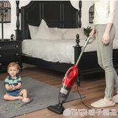 吸塵器家用地毯除蟎小型手持式迷妳大功率超靜音強力車用吸塵機拖QM   橙子精品