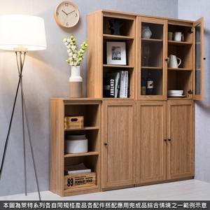 組 -特力屋萊特 組合式書櫃 淺木櫃/淺木層板8入/淺木門2入 78x30x174.2cm