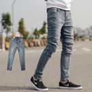 ‧【柒零年代】 ‧牛仔褲,長褲,窄管褲,合身版,無破 ‧如圖【共一色】