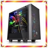 華碩 水冷組合 藍色旋風 RGB 電競風 九代9600K 六核 GTX1050TI 雙硬碟