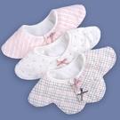 嬰兒純棉紗布圍兜口水巾寶寶防水360度旋...