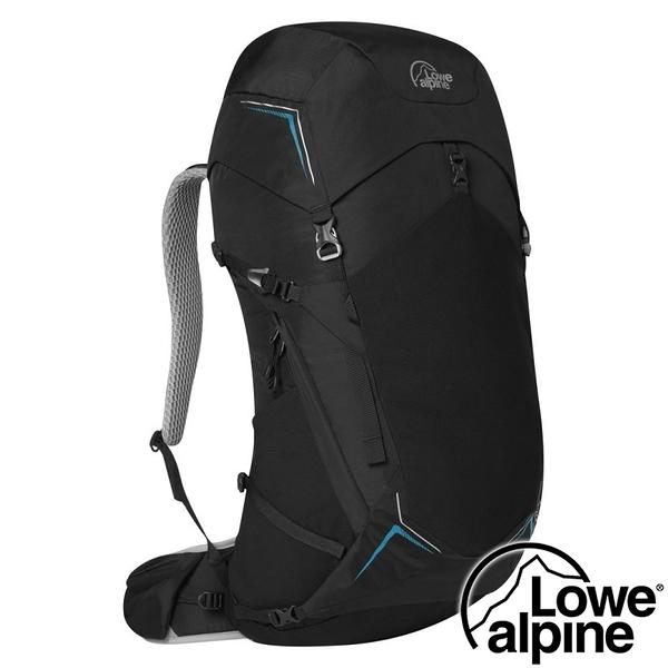 【英國 LOWE ALPINE】AirZone Trek 45:55透氣健行背包 45+10L『黑』FTE-90 登山.旅行.登山包