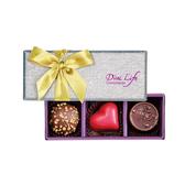 【Diva Life】2020 Diva Life®新年經典三入 禮盒(比利時手工夾心巧克力)