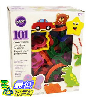[美國直購] Wilton 2304-1104 餅乾模具 壓模 101 Piece Cookie Cutter Set