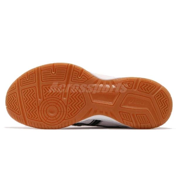 Asics 排羽球鞋 Rivre CS 白 黑 橘 膠底 男鞋 女鞋 運動鞋【ACS】 TVRA03100