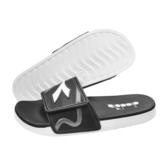 《Diadora》男鞋 雙密度拖鞋 黑白色 DA71138