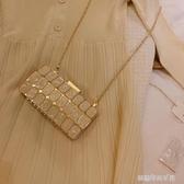 手拿包-anli style 新款手拿包宴會包斜背包氣質百搭ins超火單肩 夢露時尚女裝