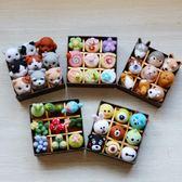 雙十一返場促銷羊毛氈戳戳樂DIY手工貓狗玩偶禮盒多肉提拉米蘇下午茶禮盒材料包