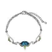 水晶手鍊 925純銀-獨特個性生日情人節禮物女手環73ak166【時尚巴黎】