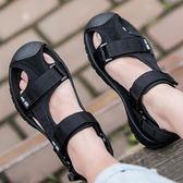 涼鞋-夏季新款戶外休閒防滑男款包頭涼鞋男士沙灘鞋潮流涼拖鞋透氣 愛麗絲精品
