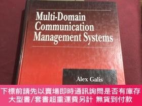 二手書博民逛書店multi-domain罕見communication management systemsY237539 A
